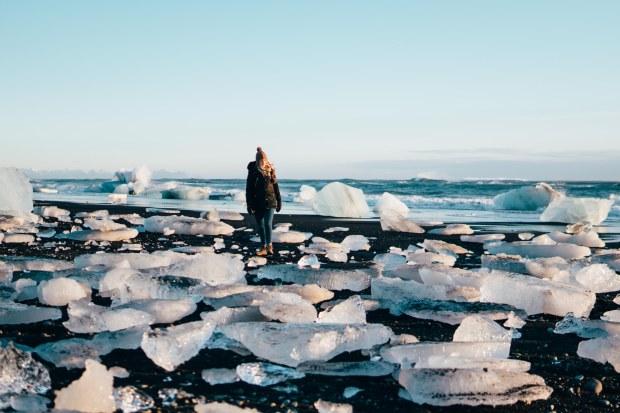 Icebeachsunset